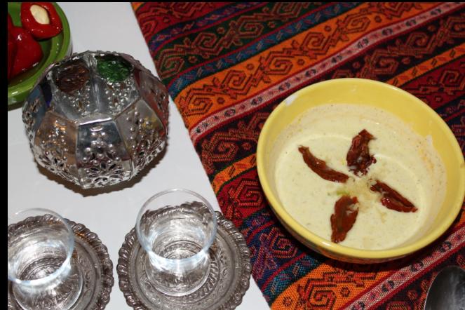 Afrika Essen Joghurtdip